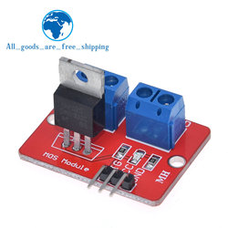 Smart Electronics 0-24V Top Mosfet Button IRF520 MOS Driver Module for MCU ARM Raspberry Pi for arduino DIY Kit