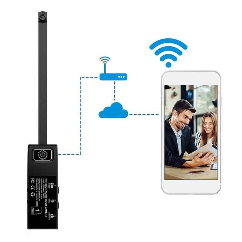 128G встроенная Micro SD карта слот 1080 P HD Wifi камера портативная камера с сигнализацией обнаружения движения