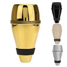 Труба Mute Silencer пластиковый тренировочный светильник-вес прямая практика чашка серебряный цвет лучшее качество 13,5*7*7 см