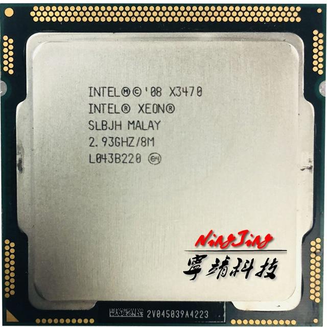 Intel Xeon X3470 2.933 ghz Quad-Core Tám-Chủ Đề 95 wát CPU Bộ Vi Xử Lý 8 m 95 wát LGA 1156