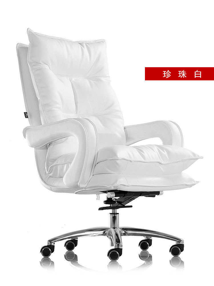 European Happy Seat Household Main Sowing Genuine Leather Boss Can Lie Lift Gaming European  Sofa Directly Swivel Chair You
