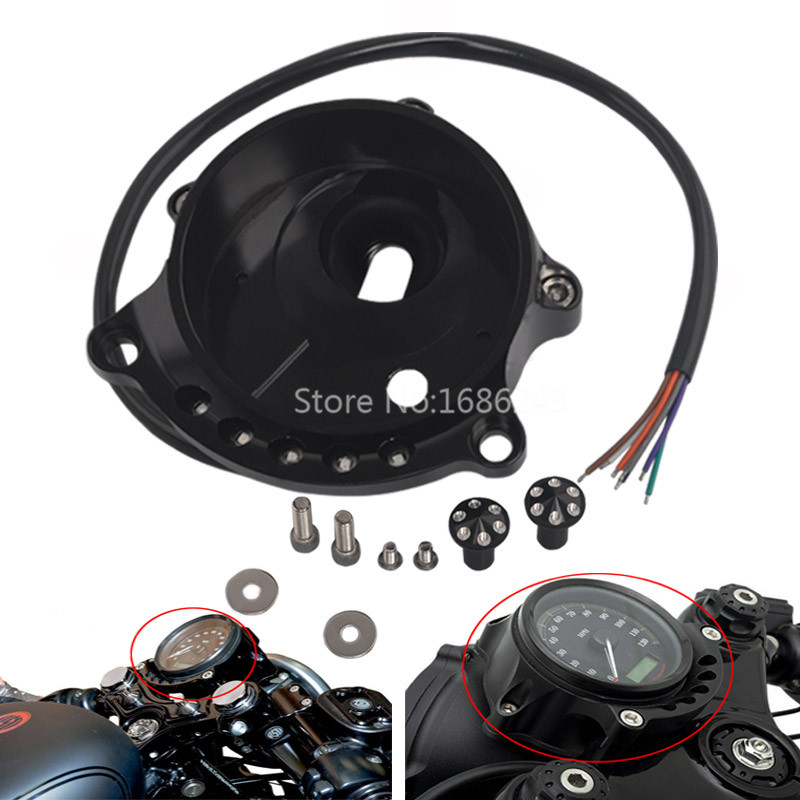 Motorcycle Cafe Speedometer Mounting Bracket Fits For Harley Sportster 883 1200 XL883 XL 1200 1996 2016