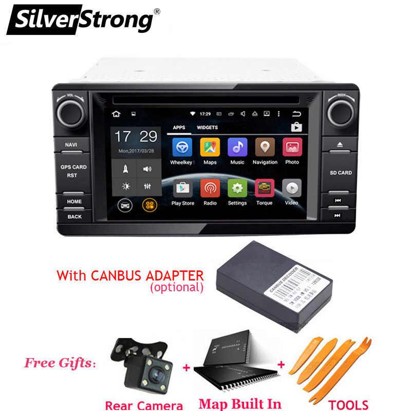 SilverStrong Android9.0 2din автомобильный DVD gps для MITSUBISHI OUTLANDER 2014-2017 gps DVD для Outlander Pajero DAB + радио wifi