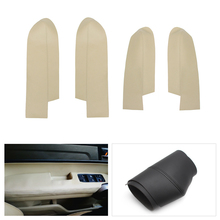 Microfiber Leather Front / Rear Door Panel Armrest Cover Seat Protection Trim For Honda CRV 2007 2008 2009 2010 2011