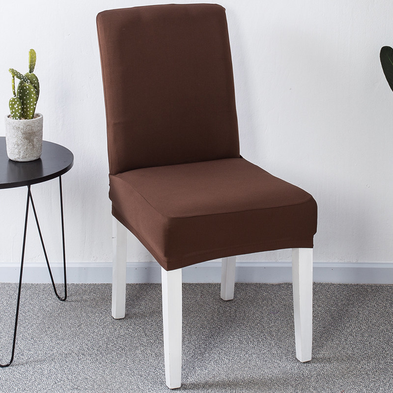 YRYIE 6pcs/lot China Black Half Back Chair Covers Spandex ...