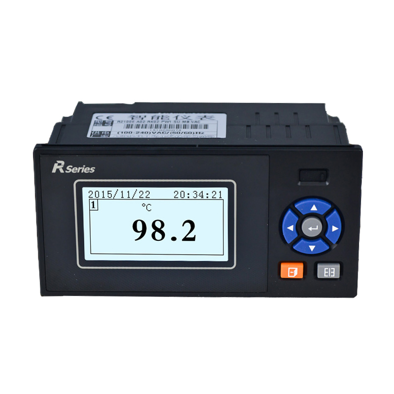 1~4 Channel Paperless Recorder High Precision Industrial Temperature And Humidity Electric Pressure Current   Voltage Detector