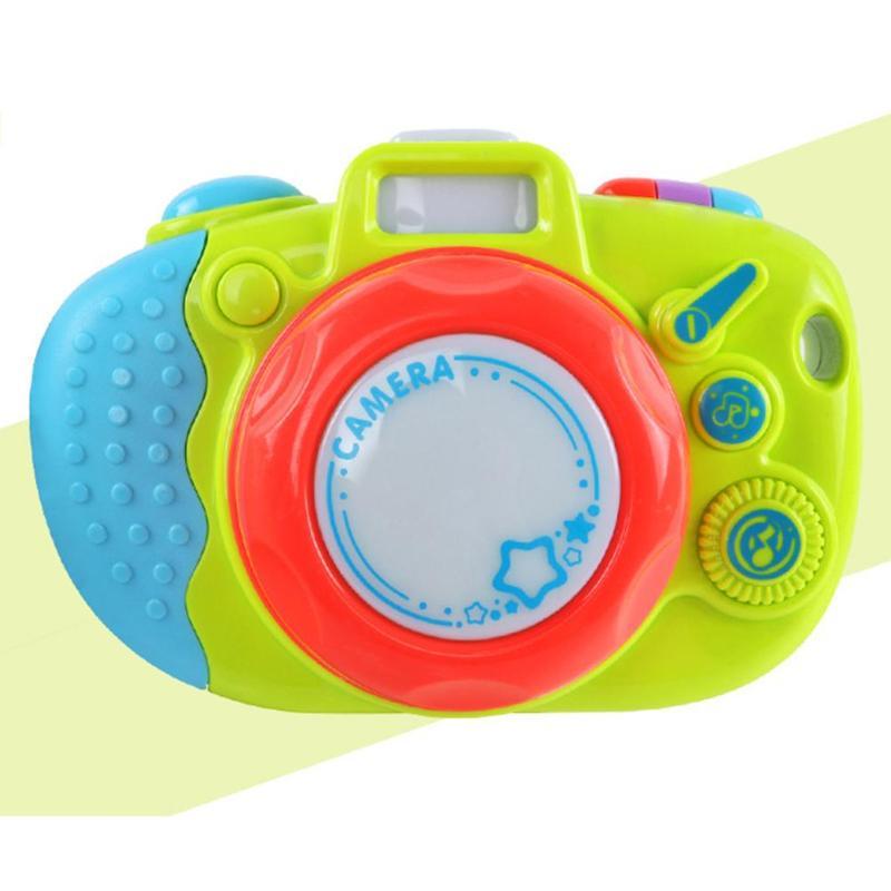 ABS Simulatie Camera Educatief Interesse Teelt Leuke Muziek Kleuterschool Kids Geschenken Shine Speelgoed voor Kinderen met Touw