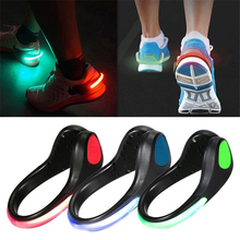 Night LED Luminous Shoe Clip Light Safety Plastic Attractive Warning Shoes Clip for Cycling Running Sports Novelty Lighting