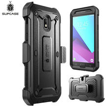 SUPCASE For Samsung Galaxy J7 2018 Case UB Pro Full-Body Rugged Holster Case with Built-in Screen Protector, NOT Fit J7 Pro 2017(China)