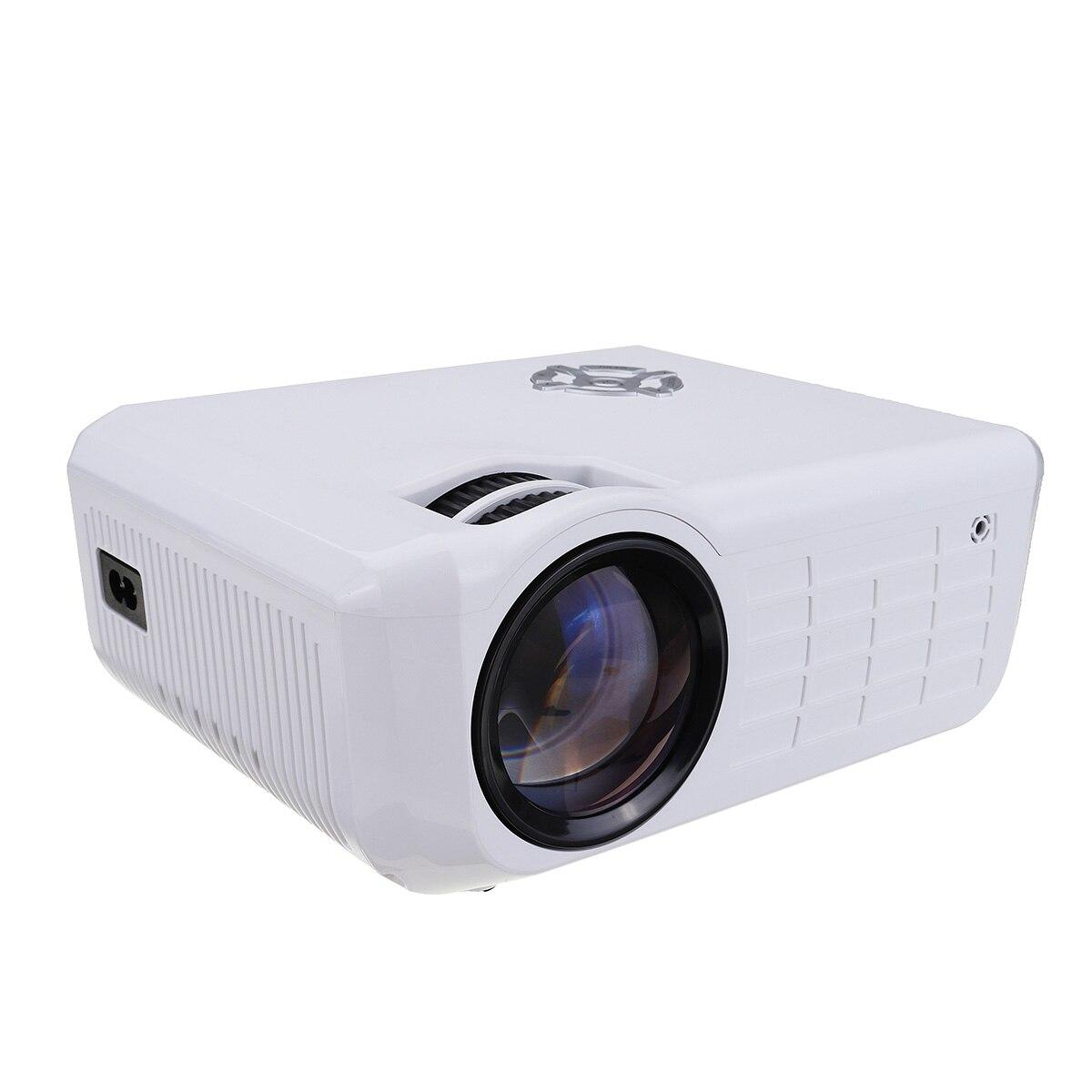 LEORY M28 LCD 2000LM projecteur résolution Native 800x480 avec Interface TV numérique prise en charge HDMI USB VGA AV