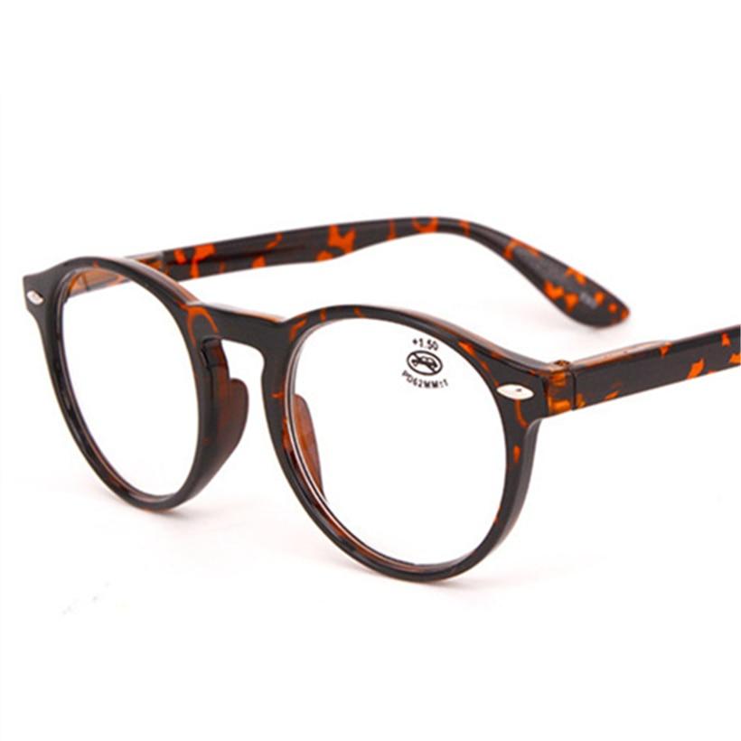 XojoX Round Reading Glasses Men Women Fashion Hyperopia Glasses Male Ultralight Eyeglasses Diopter Glasses +1.0 1.5 2.0 2.5 3.0