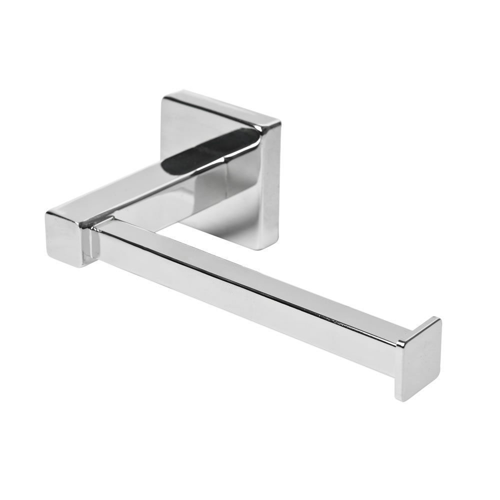 HOT SALE Chrome Square Bathroom Toilet Roll Holder. Wall Mounted Toilet Roll