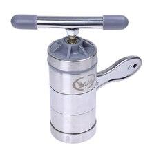 De acero inoxidable de fideos máquina de prensa de vegetal de la fruta exprimidor para cocina hacer deliciosos fideos y extracto de fácil operación sav