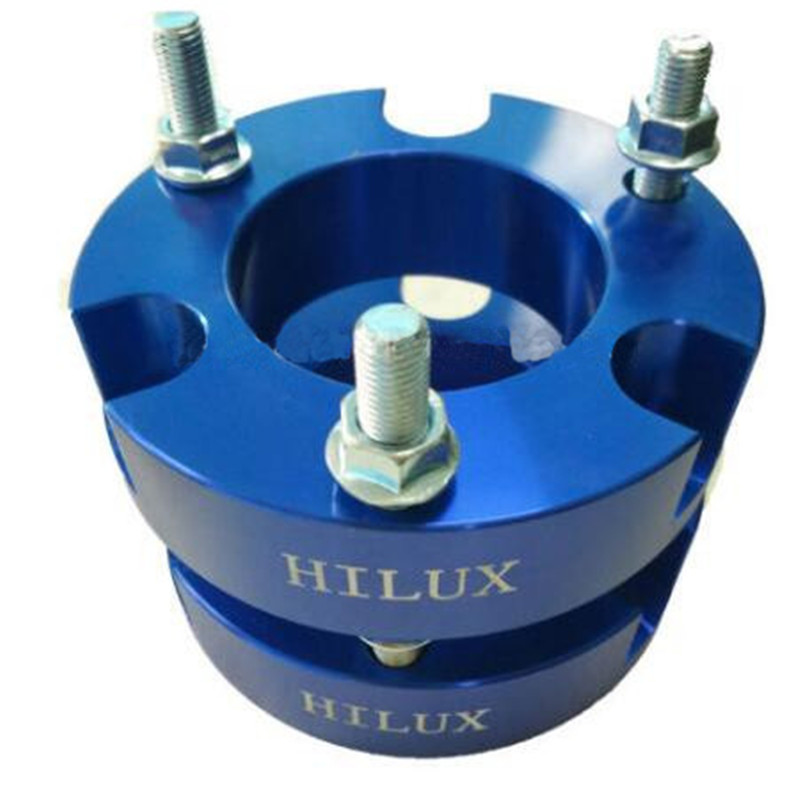 Two pcs (one pair ) Suspension Lift Aluminum 32mm Front Coil Strut Shock Spacer Kit for Hilux Revo VIGO 4DWTwo pcs (one pair ) Suspension Lift Aluminum 32mm Front Coil Strut Shock Spacer Kit for Hilux Revo VIGO 4DW