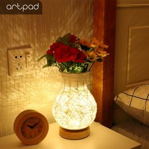 Artpad Modern USB Table Lamp W