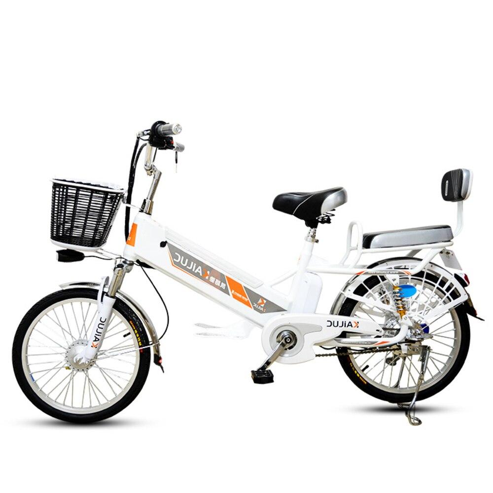20/24 pouces 60 V Lithium batterie électrique vélo 350 W roue arrière cyclomoteur Scooter moto escalade 35 Ebike