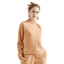 Knitting pullover sweater woman Autumn And Winter 2018 New arrival o-neck Cashmere Sweater Rendering 3123