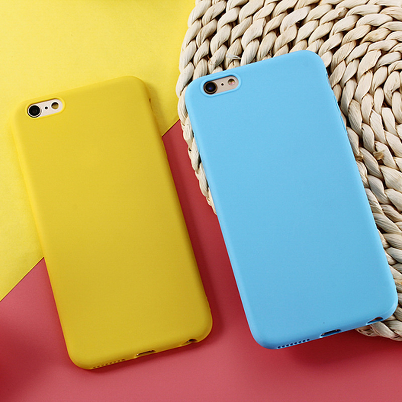 Candy Case for Xiaomi Redmi Note 5 6 Pro 5A 5 Plus 6A 4X 4A S2 Matte Cases for Xiaomi Pocophone F1 Mi 8 SE Mix 2S Max 3 A2 Lite in Fitted Cases from Cellphones Telecommunications