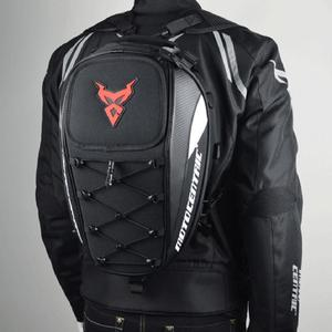 Image 5 - New Style Waterproof Motorcycle Tail Bag Multi functional Durable Rear Seat Bag High Capacity Motorcycle Rider Backpack