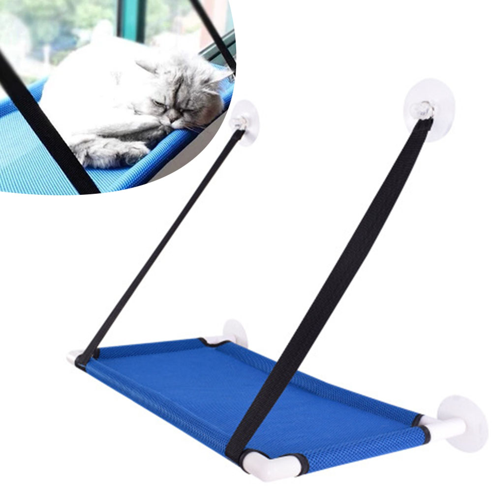Durable Cat Window Perch Sunny Cat Sill Window Seat Hammock Holds  Pet Cat  Comfortable Bed Hanging Shelf Seat Toys 60x34cmDurable Cat Window Perch Sunny Cat Sill Window Seat Hammock Holds  Pet Cat  Comfortable Bed Hanging Shelf Seat Toys 60x34cm
