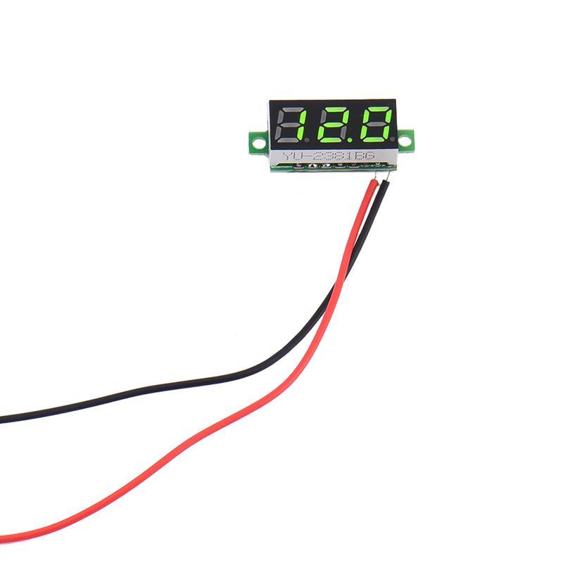 LED Digital Voltage Meter Voltmetro DC 0-10 V 0-30 V 0-100 V 0-300 V 0-600 V Rilevatore Di Tensione Pannello Volt MeterTester