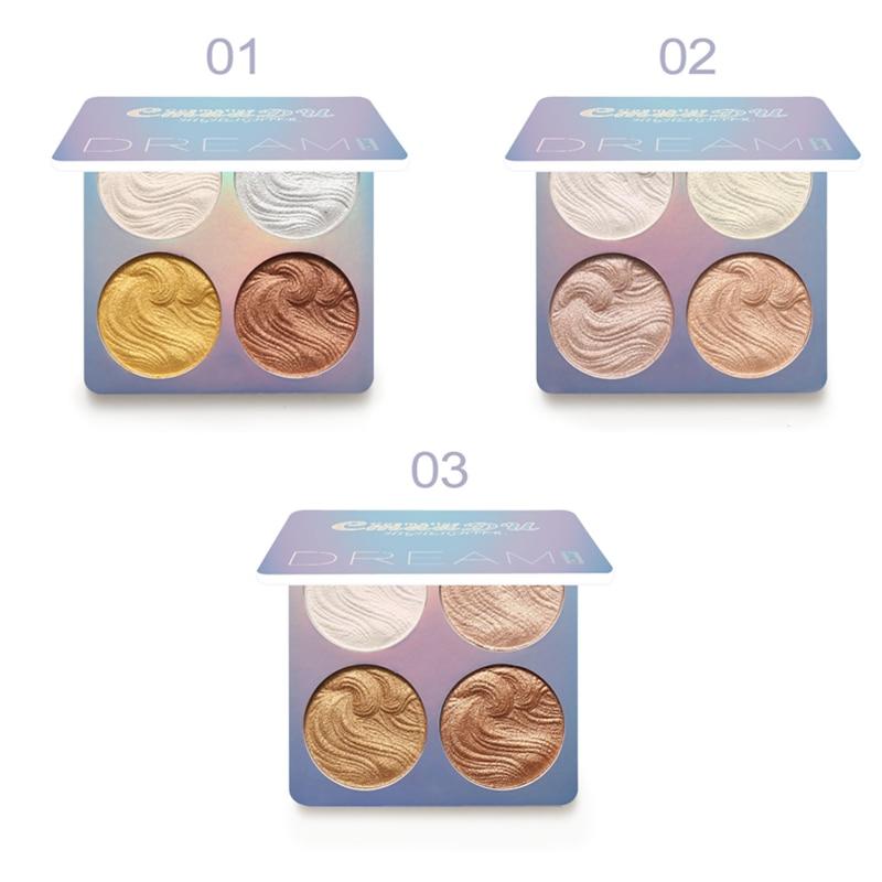 CmaaDu Makeup Face Powder Shimmer High Gloss Long Lasting Contour Powder Bronzer Matte Foundation maquillaje TSLM1