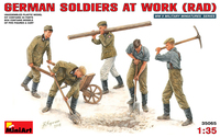 working figure man 1/35 germany solder working people together