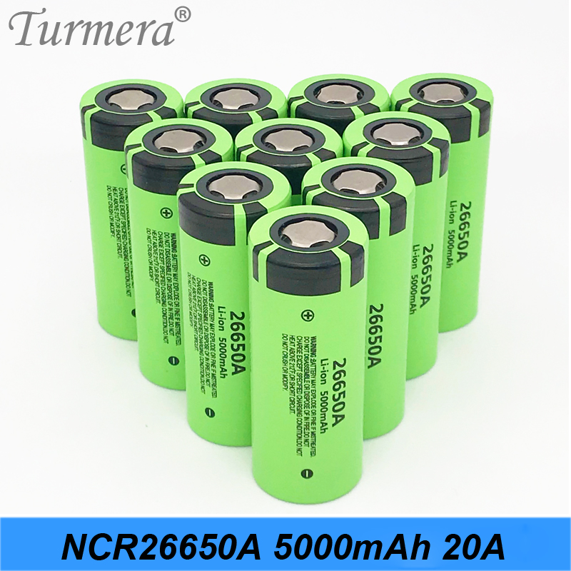 Original <font><b>26650</b></font> 5000mah NCR26650A Li-ion 3.7v Rechargeable <font><b>Battery</b></font> for Flashlight 20A fit for ScrewdriverElectric Cigarette image