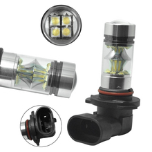 2X 9005 H10 9145 100W 6000K White Led Cree Headlight Bulbs Kit Fog Light Driving Light DC 12V to 24V 6000K Super White LED Bulb