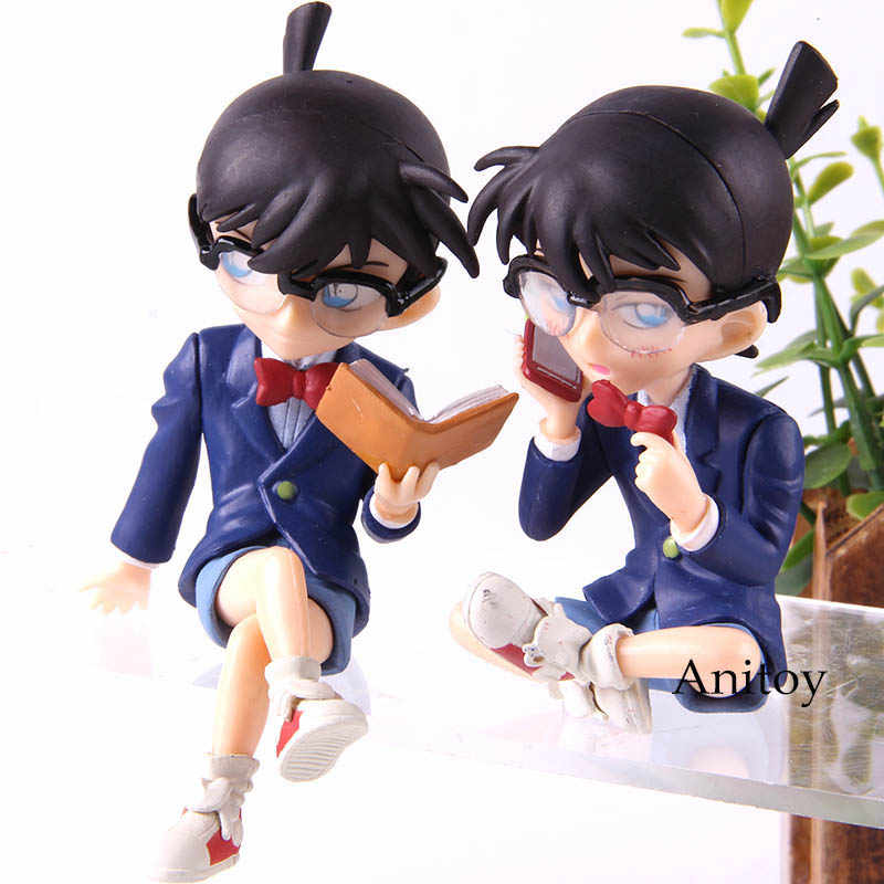 Hot Toy Anime Detective Conan Case Closed Action Figure Conan Edogawa  Collection Model Toys