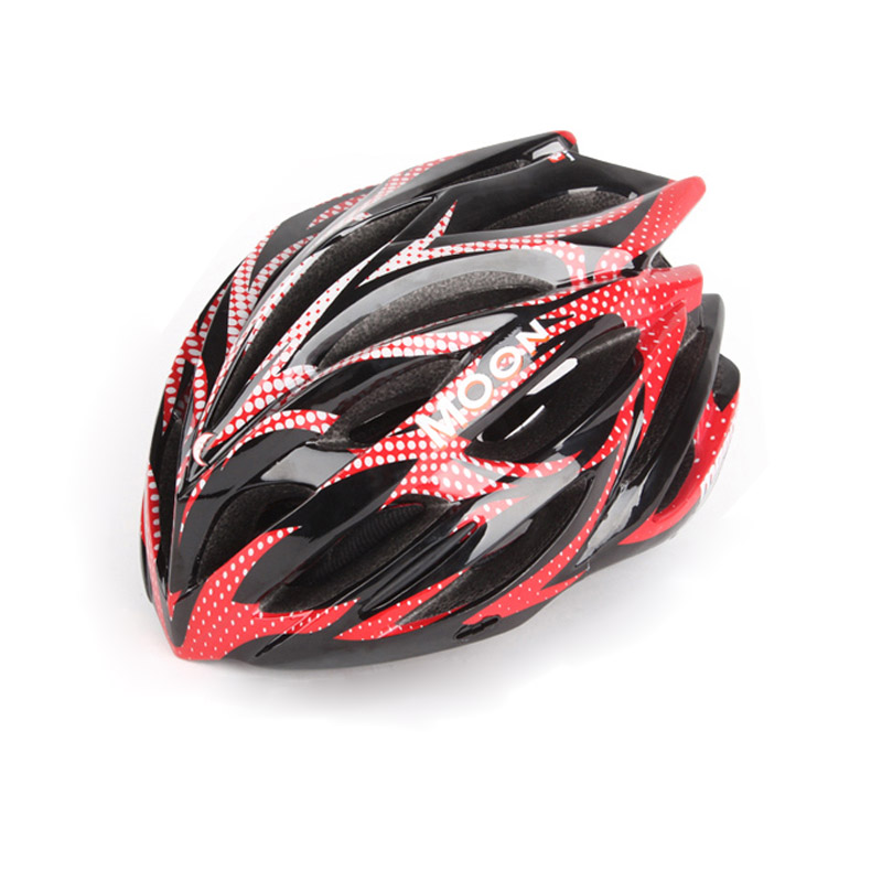 Ultra léger intégré moulé PVC + EPS 29 trous route vélo VTT vélo casque HB-31