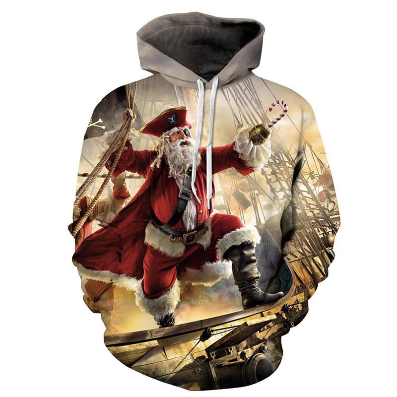 100% Wahr Zacoo Weihnachten Unisex 3d Digitaldruck Hoodies Lustige Modische Kapuzen Pullover Sweatshirts Schmerzen Haben