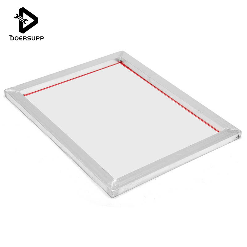A3 Screen Printing Aluminium Frame Stretched 41*51 Cm With White 90T Silk Print Polyester Mesh For Printed Circuit Boards