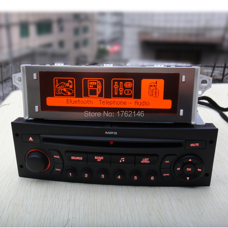 Cd-Player Monitor RADIO EXPERT 5008 PARTNER Bluetooth 308 RD45 Peugeot 207 AUX USB FOR