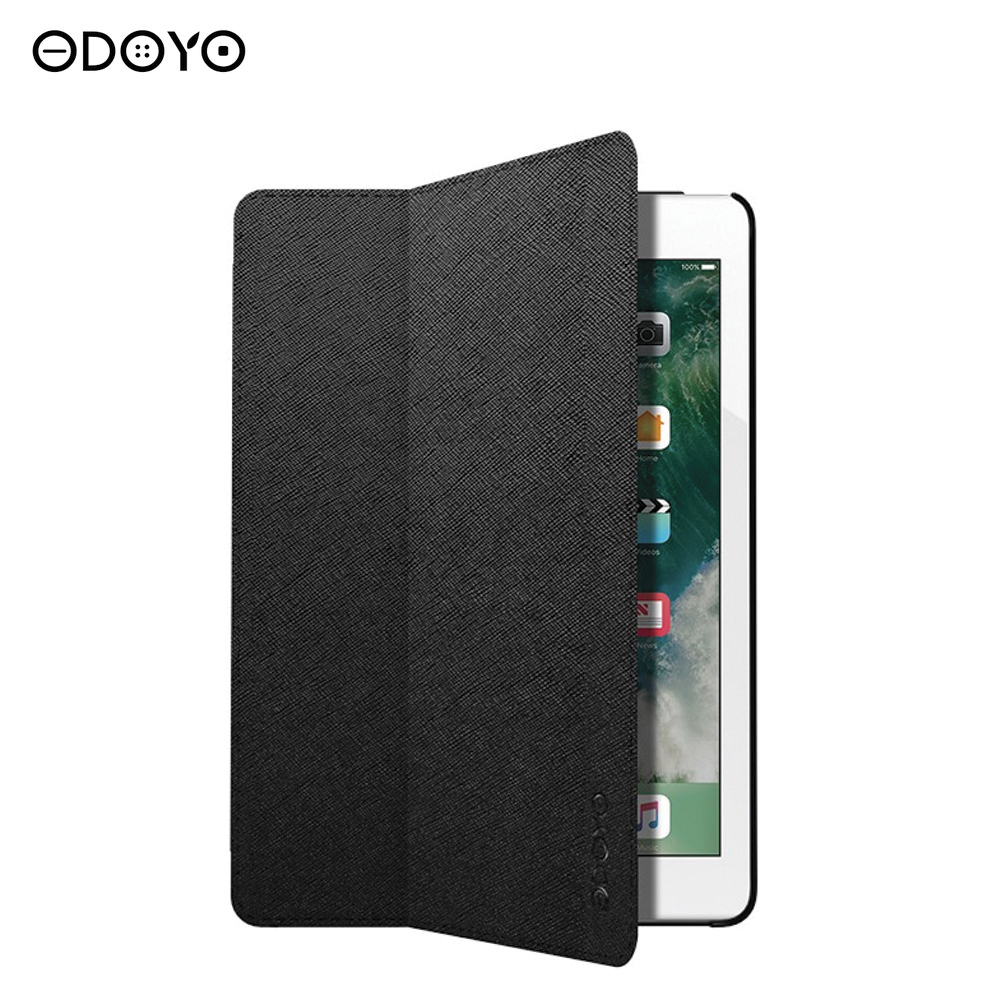 Tablets & e-Books Case Odoyo PA5097BK cases mini air pro Tablet Accessories for ipad pro 10 5 2017 tablet case genuine leather flip stents dormancy stand cover for funda wallet cases qialino