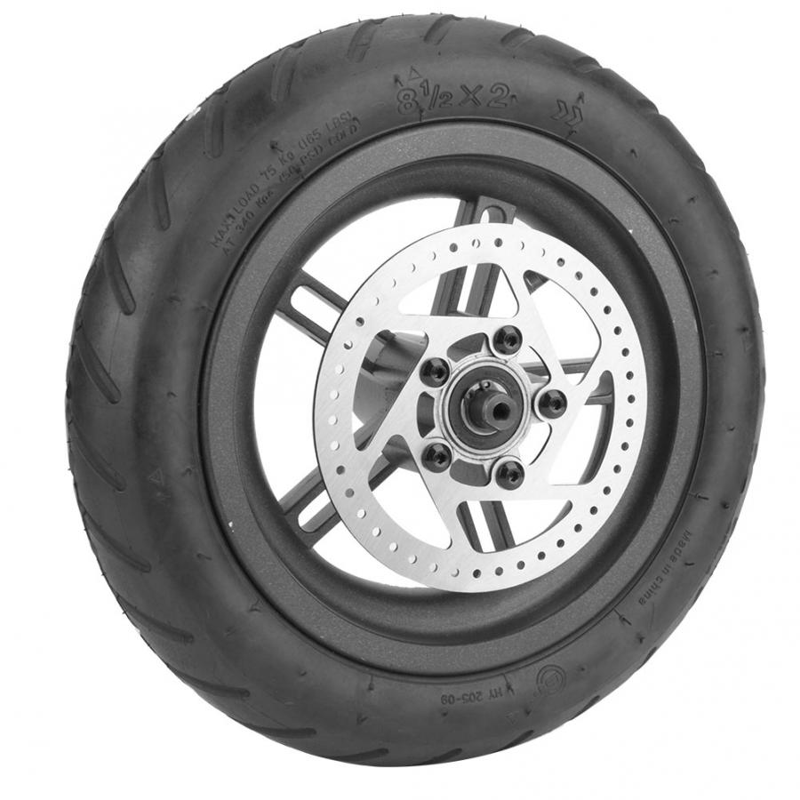 Electric Scooter Tyre Rubber & Alloy Rear Wheel Tire Disc Brake Tyre For Xiaomi Mijia M365 Electric Scooters