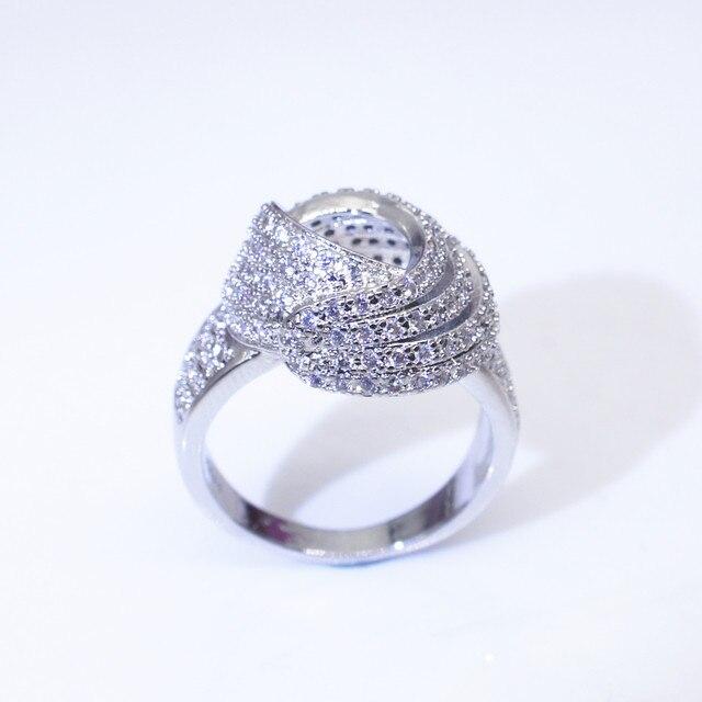 18K Gold Wrap Around Diamond Fashion Ring  3
