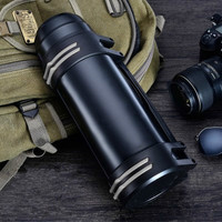 Stainless Steel Insulated Thermos Bottle 1L/2L/3L Travel Coffee Mugs Thermal Vaccum Water Bottle Thermal Mug