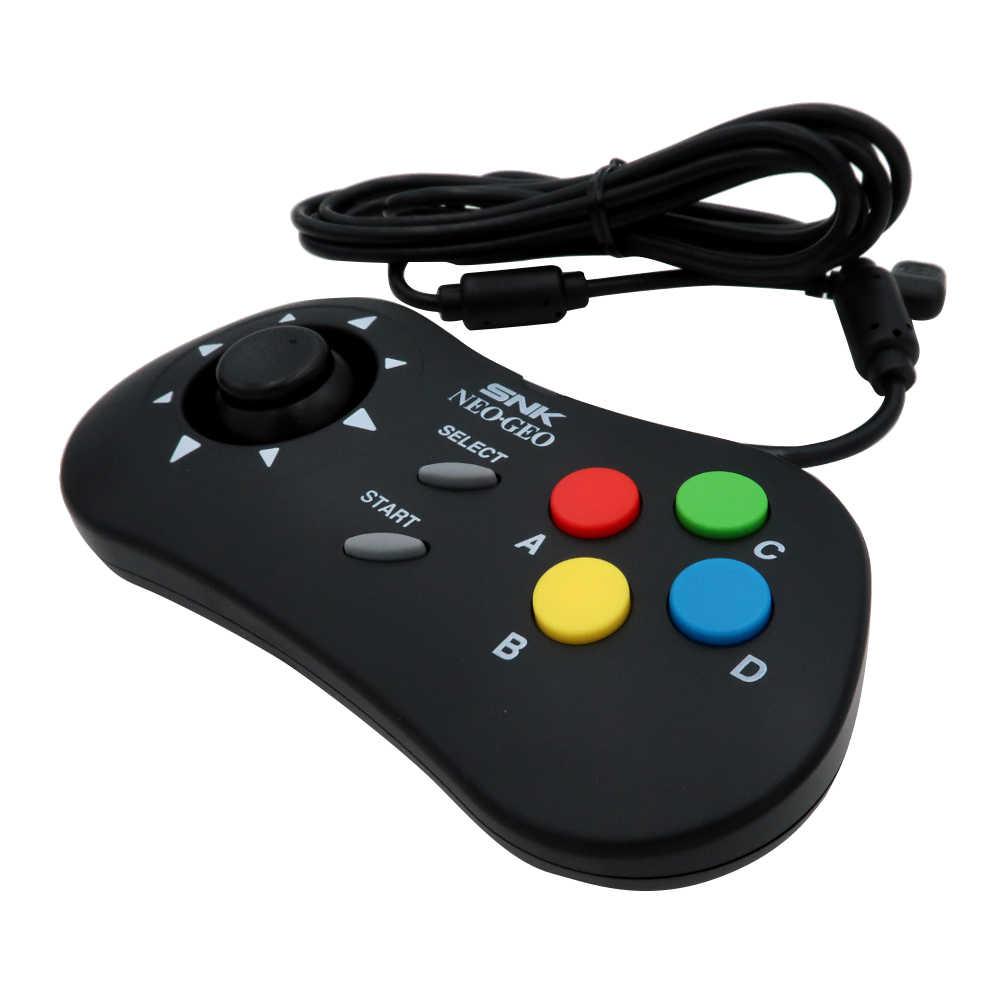 For SNK Controller Mini Game Pad White/Black for NEOGEO MINI PAD