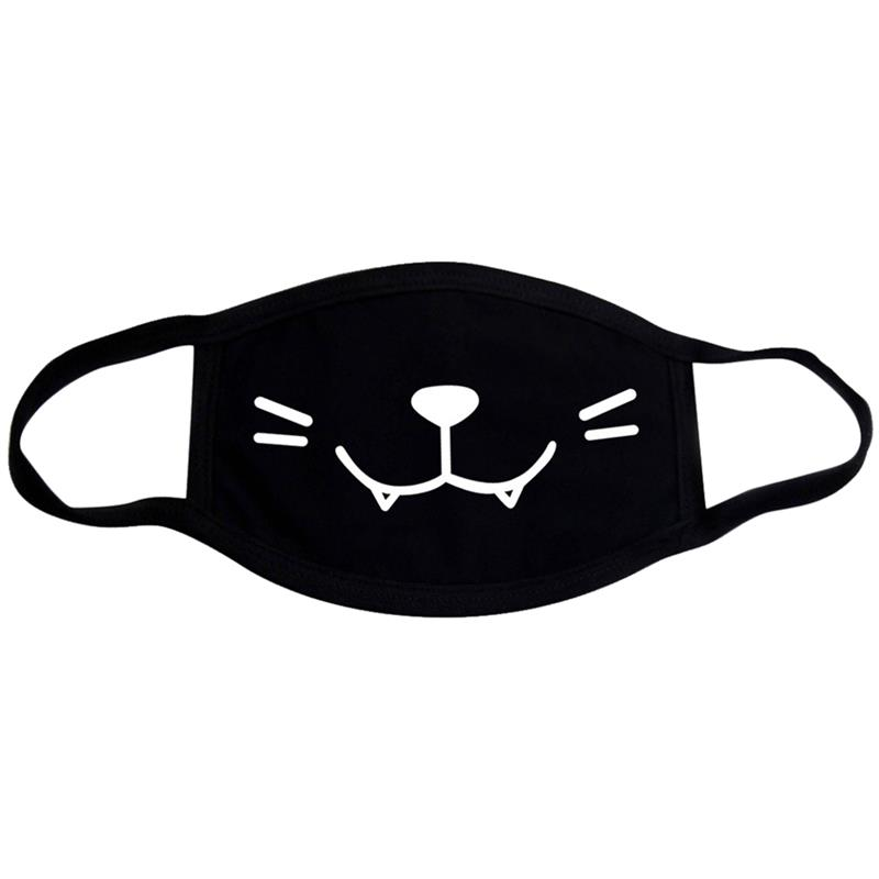 Cute Cartoon Pattern Mouth Mask Pure Cotton Washable Breathable Cartoon Mouth Cover Mask Face Mouth Mask For Kids Women Men in Women 39 s Masks from Apparel Accessories