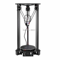 EZT T1 Laser Engraving 3D Printer Kossel Delta 3D Printer Large Color Screen Size High Precision with quality power supply