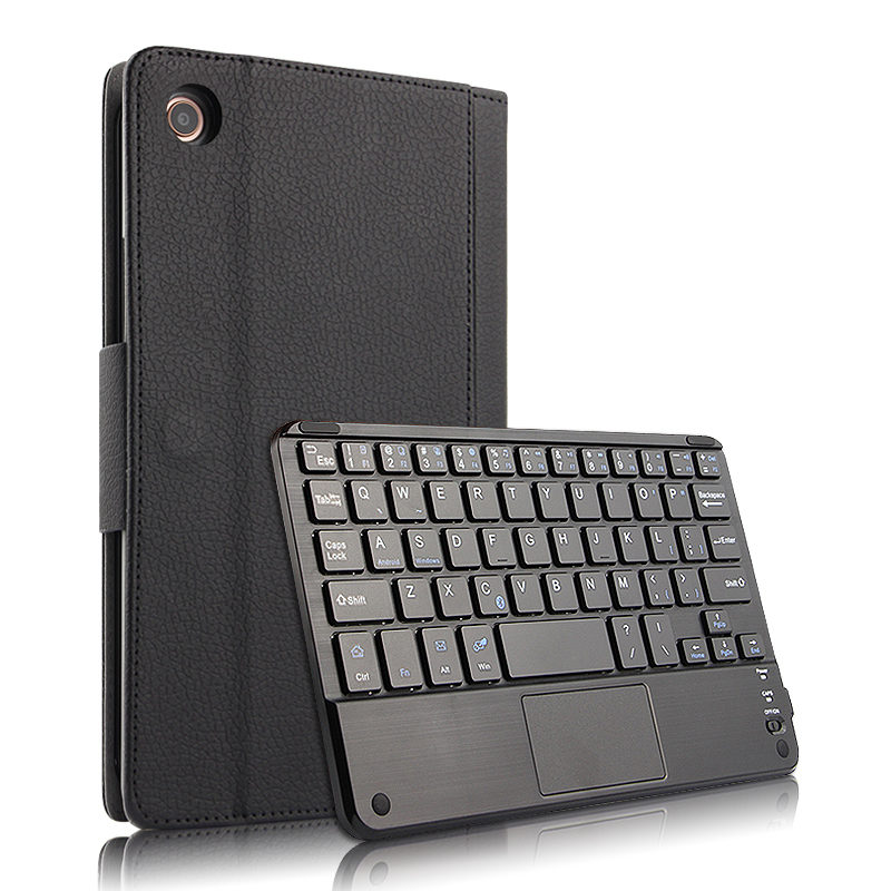 For Xiaomi Mi Pad 4 8 Inch Case Wireless Bluetooth Keyboard Leather Flip Stand Tablet Cover For Xiaomi MiPad4 8'' Case Keyboard