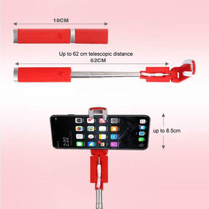 Image 5 - Lipstick Selfie Stick Mini Self Timer Rod Wire Monopod Telescopic Artifact Self Timer Lever For Mobile Phone Universal