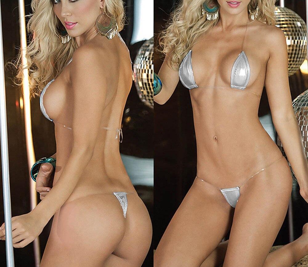 Sexy Women's Set Bikini Lingerie G-String Exotic Thong Lingerie Bikini Swimsuit Swimwear Underwear 3