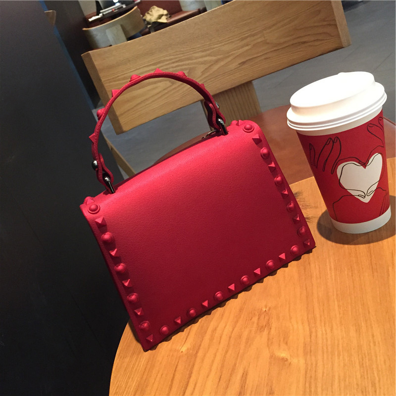 Women Messenger Bags Handbags Women Bags Designer Jelly Bag Fashion Shoulder Bag Women PVC Leather Handbags