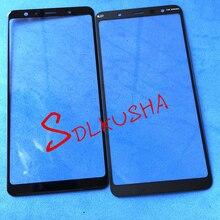 10 stücke Front Outer Bildschirm Glas Linse Ersatz Touchscreen Für Samsung Galaxy A7 2018 A750 A750F