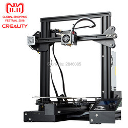 Creality Ender3 Ender-3X Upgraded Tempered Glass Magic Cmagnet MeanWell Power Optional,Resume Power Failure Printing DIY KIT