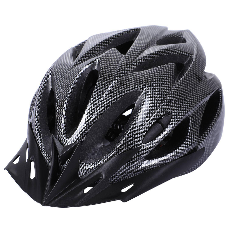 Carbon Bicycle Helmet Bike Mtb Cycling Adult Adjustable