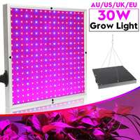 Smuxi 30W LED Growing Lamp 289 LED Lamp Beads Full Spectrum for Indoor Greenhouse Grow Tent Plants Grow Led Light Panel