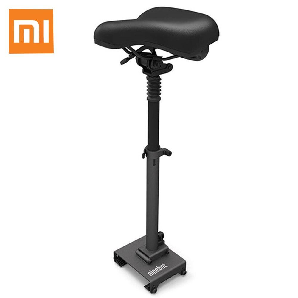 Original Xiaomi mijia Ninebot desmontable ajustable a prueba de golpes a prueba de cojín del asiento para Scooter Eléctrico ES1/ES2 M365 asientos